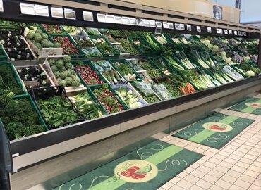 Mobilier fruits et légumes : Banque Murale