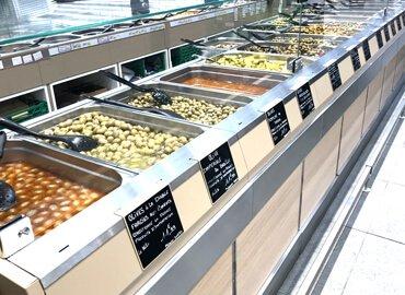 Mobilier fruits et legumes : comptoirs