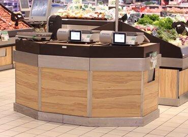 Mobilier pour magasin : Meuble de pesée