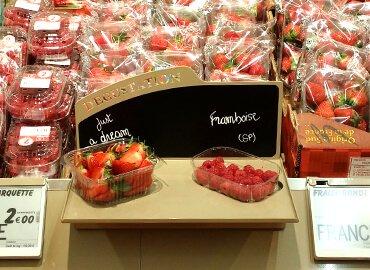 Nébulisation fruits et légumes